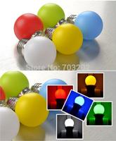 cute Xmas 0.5W 120v 230v colorfull led bulb lighting e27 decorative free shipping