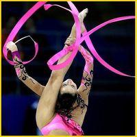 Hot Rhythmic Gymnastics Ribbon Pilates Baton Twirling Rod Stick Streamer Ribbons 4M Gym Dance & 11colors