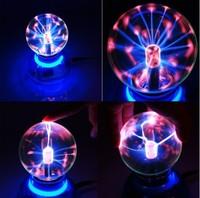 Car Magic Ball Light Plasma Glass Sound Music Interior Lighting Sphere Gift Box Lamp Kids Christmas Party Decoration New 2015