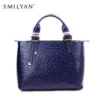 Smilyan  women genuine leather bag desigual bolsas femininas fashion bags famous brands handbag designer handbags high quality