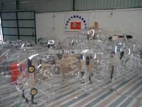 6PCS Free shipping  PVC 1.2m Air Bumper Ball,Zorbing Ball,Loopy Ball, Human hamster ball,bubble  football,bubble soccer for kids