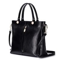 Met Again Simple Series Fashion Real Genuine leather Women handbag Of Famous Brands Fashion Designer Brand Ladies Tote