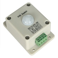 led PIR sensor, 8A, 12-24V, 10pcs a lot