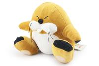 EMS 100PCS Super Mario Bros marmot Plush Toy 15 cm stuffed groundhog Animal Mouse for children