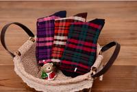 2015 Fashion Popular Women Female 10 Pairs/ Lot  Winter Warm Socks Scottish Grid Design Casual Comfortable Socks Free Shipping