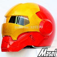 Masei Red Atomic-Man 610 Open Face Motorcycle Casco Free Shipping Worldwide