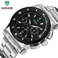 Luxury Brand fashion Men wristwatch stainless steel watch quartz watches men waterproof LED clock new arrival relogio masculino