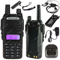 BAOFENG UV-82 VHF UHF Dual Band 136-174/400-520MHz 2-PTT 5W Two Way Radio ON0401