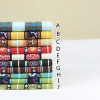 Marie 100% cotton flat stripe handmade diy linings fabric 110cm cotton fabric middle border