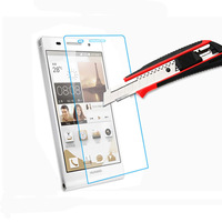 Free shipping Ultrathin Premium Tempered Glass Film For Huawei Ascend P7 Screen Protector Protective Film Hot Sale