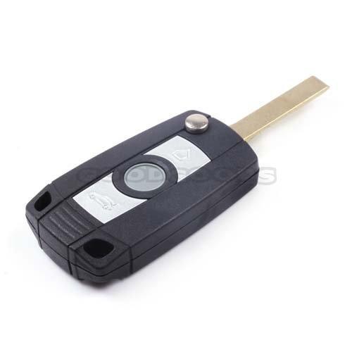 New Replace Uncut Blank Folding Flip Fob Remote Key Case Shell Covers for Bmw Z3 X5 330i 325i Z4 X3 545i 530i Free shipping(China (Mainland))