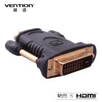 Vention Gold Plated DVI Male (24+1 pin) to HDMI Female (19-pin) Adapter (ADVID1-HM2) DVI(24+1)male to Standard HDMI female