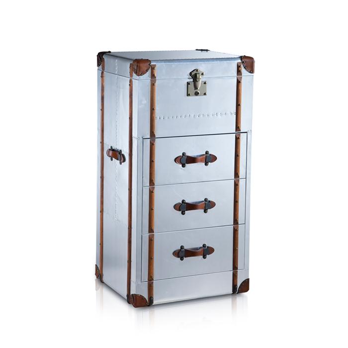Creative File Cabinets File Cabinet Aluminum Skin