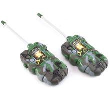 Goforward  2PCS Multifunction Children Toy Walkie Talkie Interphone Outdoor   New