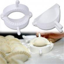 1PC Paquete máquina dumpling Pequeña herramienta 7.5cm plástico Inicio Dough Prensa Dumpling Pie Ravioli molde Mold herramientas de los pasteles Hacedor de cocina(China (Mainland))