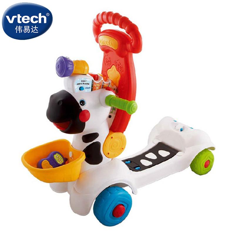Genuine VTech Vtech little zebra multifunctional Walker / foot traffic / scooter 1-3 years old(China (Mainland))