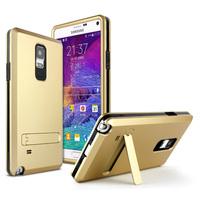 For Samsung Galaxy Note4 Hard PC + Soft TPU Rubber Silicone Phone case original imak brand back cover Note 4 N9100 unqiue stand