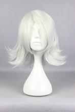 Tokyo Ghoul Juuzou Suzuya 35cm Short  Silvery Gray Cosplay Costume Wig(China (Mainland))