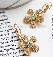 Buy Top Quality Fashion Sex Elegant 1.5CM Long Alloy Stud Earrings USA Fashion KS Series Jewelry Gold Plating Long Lasting Wear
