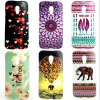 For Motorola Moto G2 TPU Back cover soft case Fashion Cartoon owl animation design Case cover D1468-A