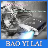 200lumens LED LCD Projektor 1080P uc30 proyector Portable Video Pico Micro Mini 3D Projector BLACK