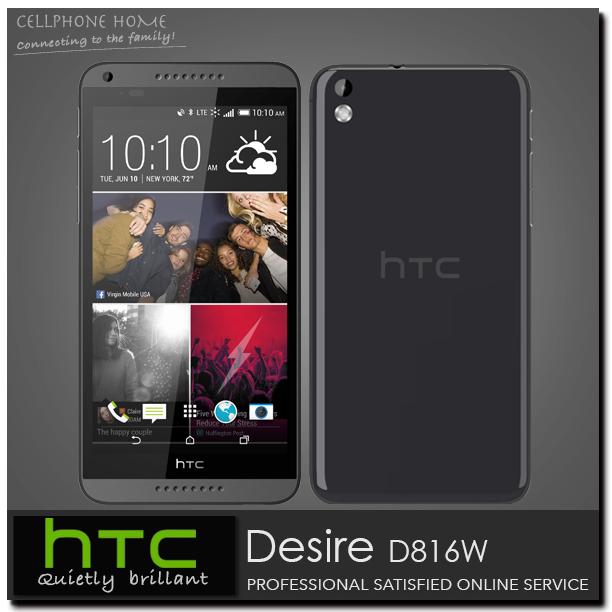 Unlocked Original HTC Desire 816 5.5'' 1280x720p WCDMA Quad Core Qualcomm 8GB rom 13.0MP WIFI 3G Dual Sim Cell Phones(China (Mainland))