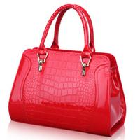 2015 women messenger bags women handbag fashion cembossed leather leather bag portable shoulder bag women leather bag