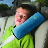 Car safety belt shoulder pad set child shoulder pads safety seat headrest elevator mat