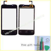 For Huawei Y200 U8655 replace digitizer touchscreen touch panel , Free gift tools ,free shipping
