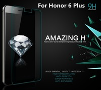 Genuine NILLKIN Amazing H Nanometer Anti-Explosion Tempered Glass screen protector For Huawei Honor 6 Plus with Retail Box