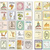 30packs/lot Wholesale New vintage prince stamp sticker/note sticker/Decoration label/Multifunction/DIY sticker