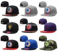 Tiger big eye Snapback hats Fashion Mens Women Hip Hop snakeskin leopard camo gorras bones baseball caps