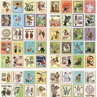 30packs/lot Wholesale Vintage Dorothy stamp sticker/note sticker/Decoration label/Multifunction/DIY sticker