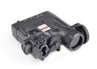 Tactical Flashlight IR Laser and Led Torch Black EX 328 DBAL-EMKII free shipping