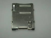 Fast shipping samples SIM card socket ,8+1pin ,surface mount ,stainless case,200pcs/lot
