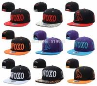 OVOXO Snapback hats leopard snakeskin men hiphop tennis snap back womens gorras bones baseball caps