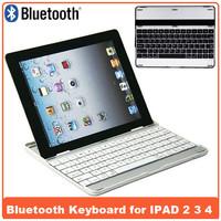For iPad 2 3 4 Cases HT- P2092 Bluetooth Keyboard Wireless Ultrathin Aluminum Keyboard Gaming  wireless keyboard Drop Shipping