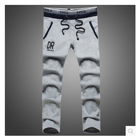 Tide han edition men's DR letters printing of new fund of 2014 autumn winters is recreational sports pants