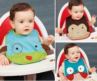 New Brand Baby Clothing Saliva towel Waterproof Kids Toddler Lunch Bibs Burp Cloths Free Shipping