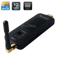 Measy U4C Quad-Core Android 4.2 Mini PC TV Box Built-in Camera & Mic & Bluetooth