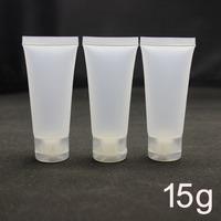 15g  mildy wash soft tube or butter / handcream tube,15ml plastic tube