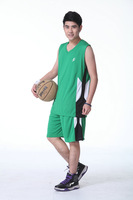 Basketball Uniforms genuine basketball jersey shirt suit basketball game set free shipping
