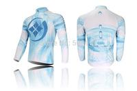 Long sleeve mountain bike cycling jersey set lycra bib pants with coolmax sponge cushion polyester road bicycle wear anti sweat