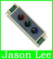 3 Channels Adjustable Dimmer Brightness Control Adjust Controller DC 12V 24v 3 X 3A 9A For RGB 5050 LED Light Strip Lamp Jason