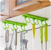 2015 NEW Fashion Kitchen Rack Seasoning Rack Kitchen Ceiling Hanging Rod Kitchen Storage Rack Hooks