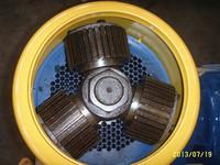 MKL335 wood pellet machine spare parts---------6mm die and a set of roller