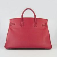 2014 women genuine leather brikindesign 40cm tote bag NO.6099-(gold & silver hardware)