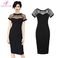 Vestidos New Fashion Casual Dress Women Ladies Black Elegant Sheath Bodycon Dresses Woman Clothes Roupas Femininas Dropshipping