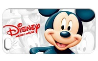 1PC Classical Mickey Mouse style hard cell phone cover case back skin for Iphone 4 4S 5 5S free shipping
