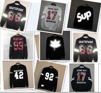 3M!Light Hoodies.Men Digital Warm Sweatshirt.2014 New Fashion O-Neck Printing Sweater Hip Hop Luminous Hoodies Sweaters 21models